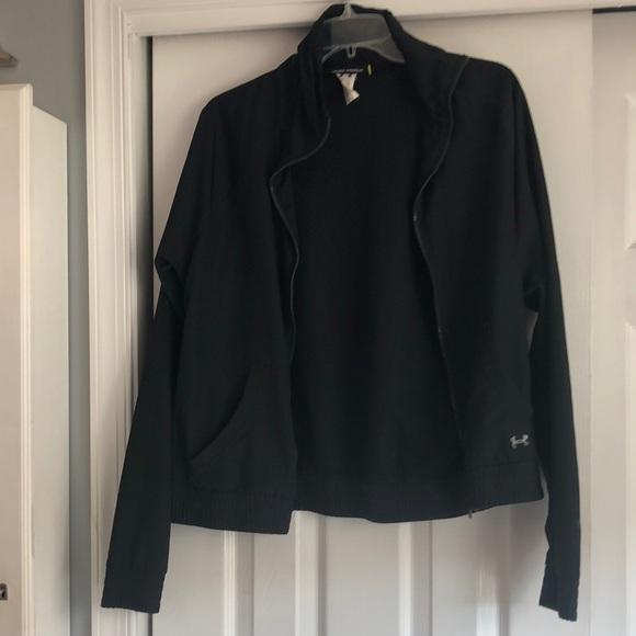 Black under armour jacket